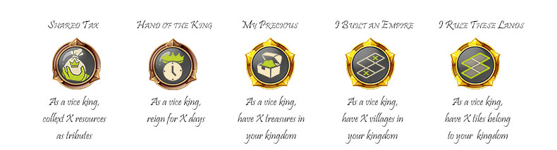 Vice king achievements